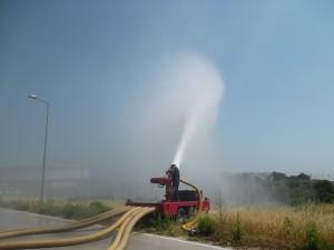 Quality foam firefighting