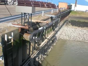 Semi fixed hydraulic pump